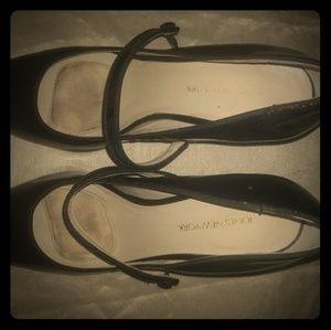Jones New York Black Patent Leather Heels